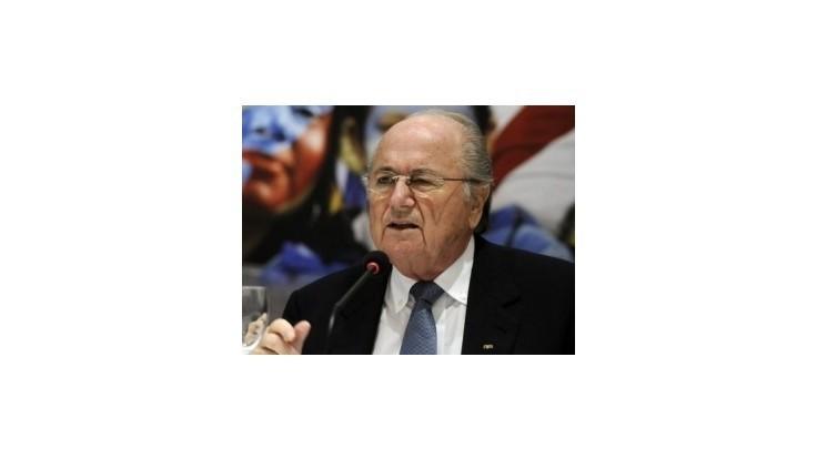 Blatter odsudzuje korupciu a nemieni ju tolerovať
