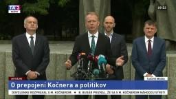 Vyhlásenie A. Kisku, M. Trubana, M. Beblavého a A. Hlinu ku Kočnerovej komunikácii
