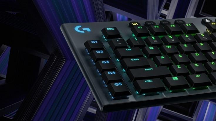 Logitech vydáva tenké herné klávesnice s nízkymi mechanickými spínačmi