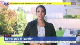 Redaktorka TA3 L. Ježová o rokovaní tripartity