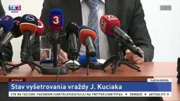 TB prokurátorov o stave vyšetrovania vraždy J. Kuciaka a M. Kušnírovej