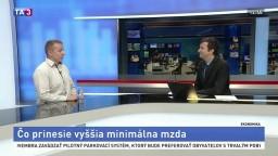 HOSŤ V ŠTÚDIU: Analytik R. Chovanculiak o minimálne mzde