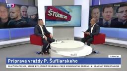 P. Šufliarsky v štúdiu TA3: Ako mali pripravovať jeho vraždu