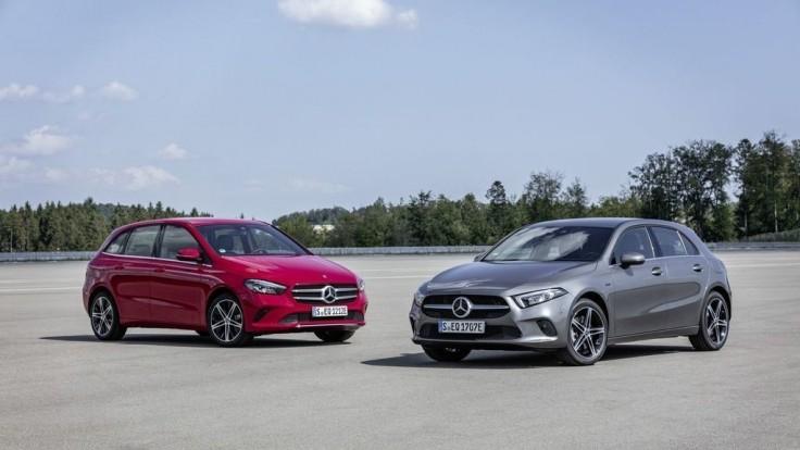 Plug-in hybridy Mercedes-Benz A a B predstavia vo Frankfurte