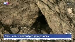Našli sa veci uviaznutých jaskyniarov. Či sú nažive, je stále otázne
