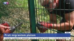 Slovinci stavajú plot, má zastaviť nelegálnych migrantov
