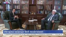 Veľvyslanec J. Muška o oslavách Dňa nezávislosti na Ukrajine