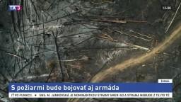 Bolsonaro zmenil názor. S požiarmi v Amazónii pomôže armáda