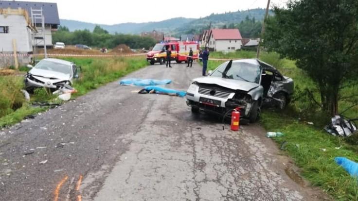 Tragédia na Orave. Zrážku áut neprežila štvorčlenná posádka
