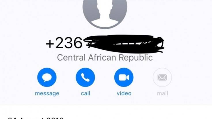 Máte neznámy telefonát z Afriky? Nedvíhajte, varuje polícia