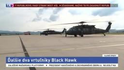 Armáda získala ďalšie dva vrtuľníky Black Hawk, dokopy ich bude deväť