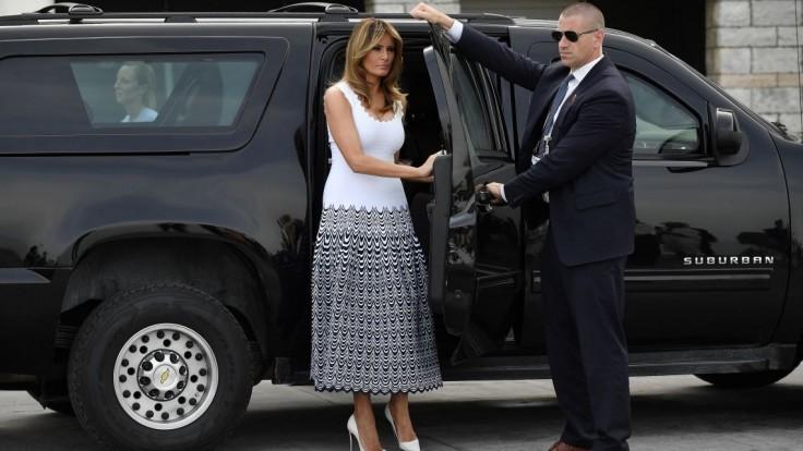 Trumpova žena sa tajne nestretávala s Kimom, vysvetľoval Biely dom