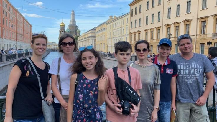 Puškinov pamätník má víťazov, aj s rodičmi navštívili Petrohrad