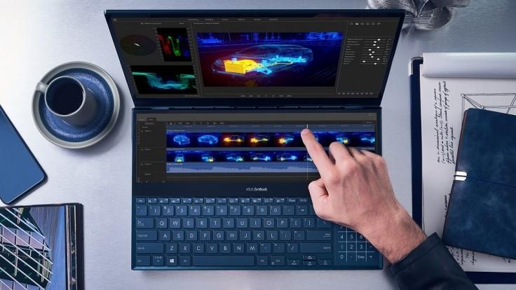 Na Slovensko prichádza ZenBook Pro Duo s obrazovkou ScreenPad Plus