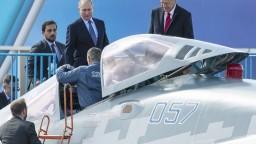 Fotogaléria: Putin s Erdoganom otvorili veľkú leteckú šou MAKS