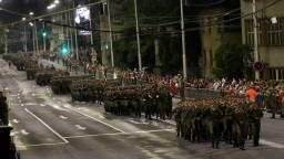 Nočnú generálku pred oslavami SNP sledovali stovky Bystričanov