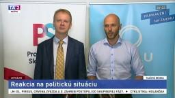 TB koalície strán PS a Spolu o opatreniach proti oligarchom