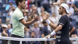 Fabbiano prekvapujúco vyradil Thiema, Nadal postúpil bez problémov