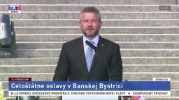 Príhovor premiéra P. Pellegriniho na oslavách v Banskej Bystrici