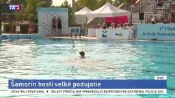 Šamorín hostí veľké podujatie v synchronizovanom plávaní