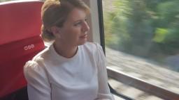 Prezidentka nasadla na vlak a odcestovala na návštevu Rakúska