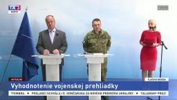 P. Gajdoš a D. Zmeko vyhodnotili vojenskú prehliadku na oslavách SNP