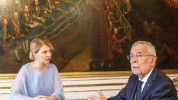 Čaputová sa stretla s rakúskym prezidentom aj kancelárkou