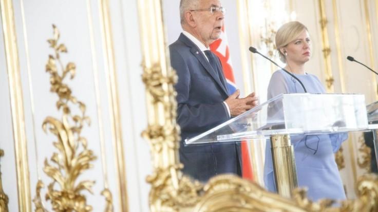 Fotogaléria: Prezidentka navštívila Rakúsko, cestovala vlakom