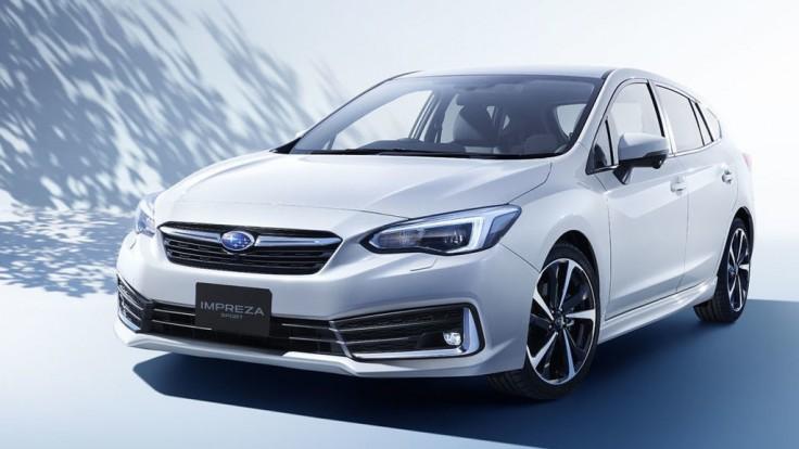 Subaru ukázalo modernizovanú Imprezu