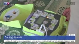 Prešovský kraj nakúpil defibrilátory. Prístrojmi chce vybaviť aj samosprávy