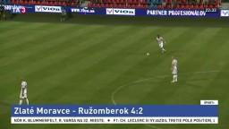 Ružomberok sa trápi, od Zlatých Moraviec inkasoval štyri góly