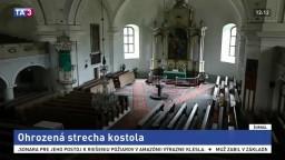 Strecha kostola sa môže zrútiť, peňazí na opravu nie je dosť
