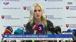 TB štátnej tajomníčky M. Jankovskej o jej kauze a rozhodnutí odstúpiť