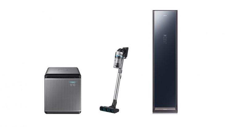 Trio dynamických domácich spotrebičov Samsung privialo čerstvý vzduch