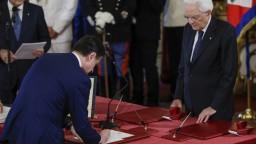 Talianska vláda zložila prísahu, rezort financií majú Demokrati