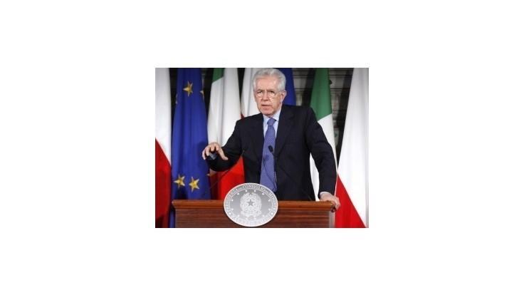 Sicílii hrozí bankrot, tvrdí premiér Monti