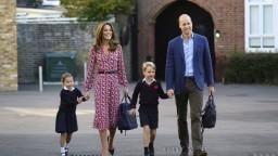 Fotogaléria: Princezná Charlotte absolvovala prvý deň v škole