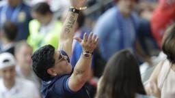 Maradona sa stal trénerom Gimnasie La Plata