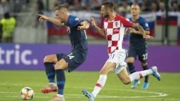 Zápas skončil debaklom. Chorváti našim futbalistom uštedrili štyri góly