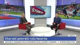 ŠTÚDIO TA3: P. Lérant o zápase medzi Chorvátskom a našou reprezentáciou