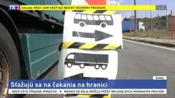 Autobusári sa sťažujú na čakanie, colníci to pripisujú rekonštrukcii