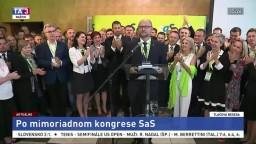 TB R. Sulíka po mimoriadnom kongrese strany SaS