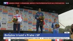 Beňuš v Prahe triumfoval. Získal prvenstvo v SP a zlatú medailu