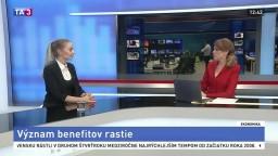 HOSŤ V ŠTÚDIU: Hovorkyňa N. Richterová o rastúcom význame benefitov