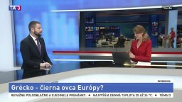 HOSŤ V ŠTÚDIU: Analytik T. Púchly o Grécku a jeho ekonomike