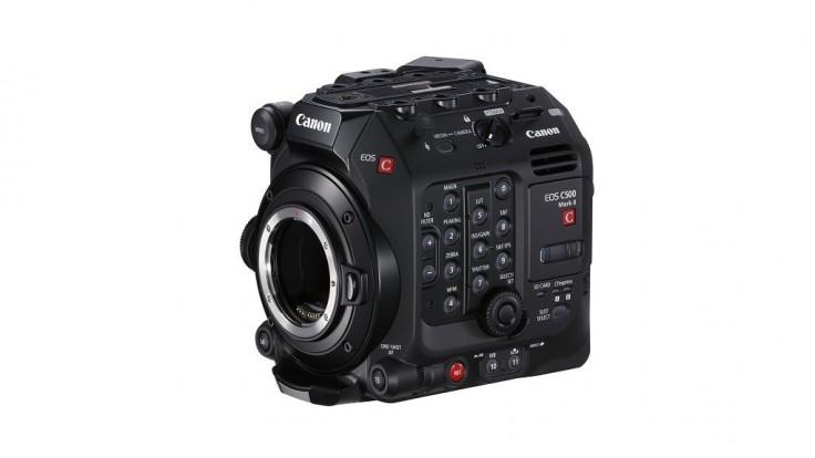 Kompaktná plnoformátová filmová kamera EOS C500 Mark II s rozlíšením 5.9K