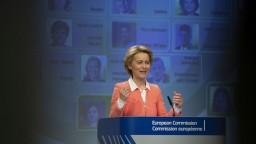 Záznam vystúpenia U. von der Leyenovej o rozdelení postov v Európskej komisii