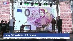 Lesníci oslavujú okrúhle výročie, vydali pamätnú eurobankovku