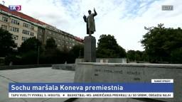 Sochu sovietskeho maršala v Prahe premiestnia. Nehoráznosť, tvrdia Rusi