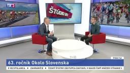 ŠTÚDIO TA3: Prezident SZC P. Privara o pretekoch Okolo Slovenska